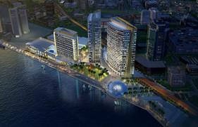 Hyatt on the waterfront