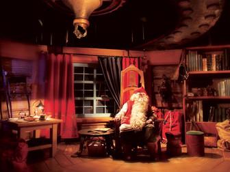 La inolvidable visita a Papá Noel