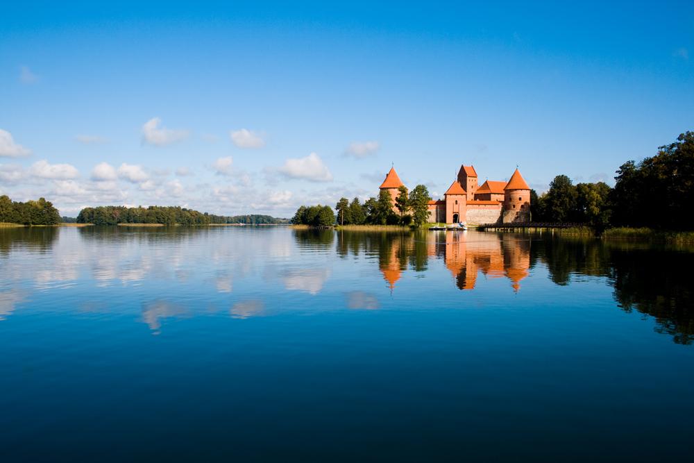 Castillo de Trakai - Lago Galve