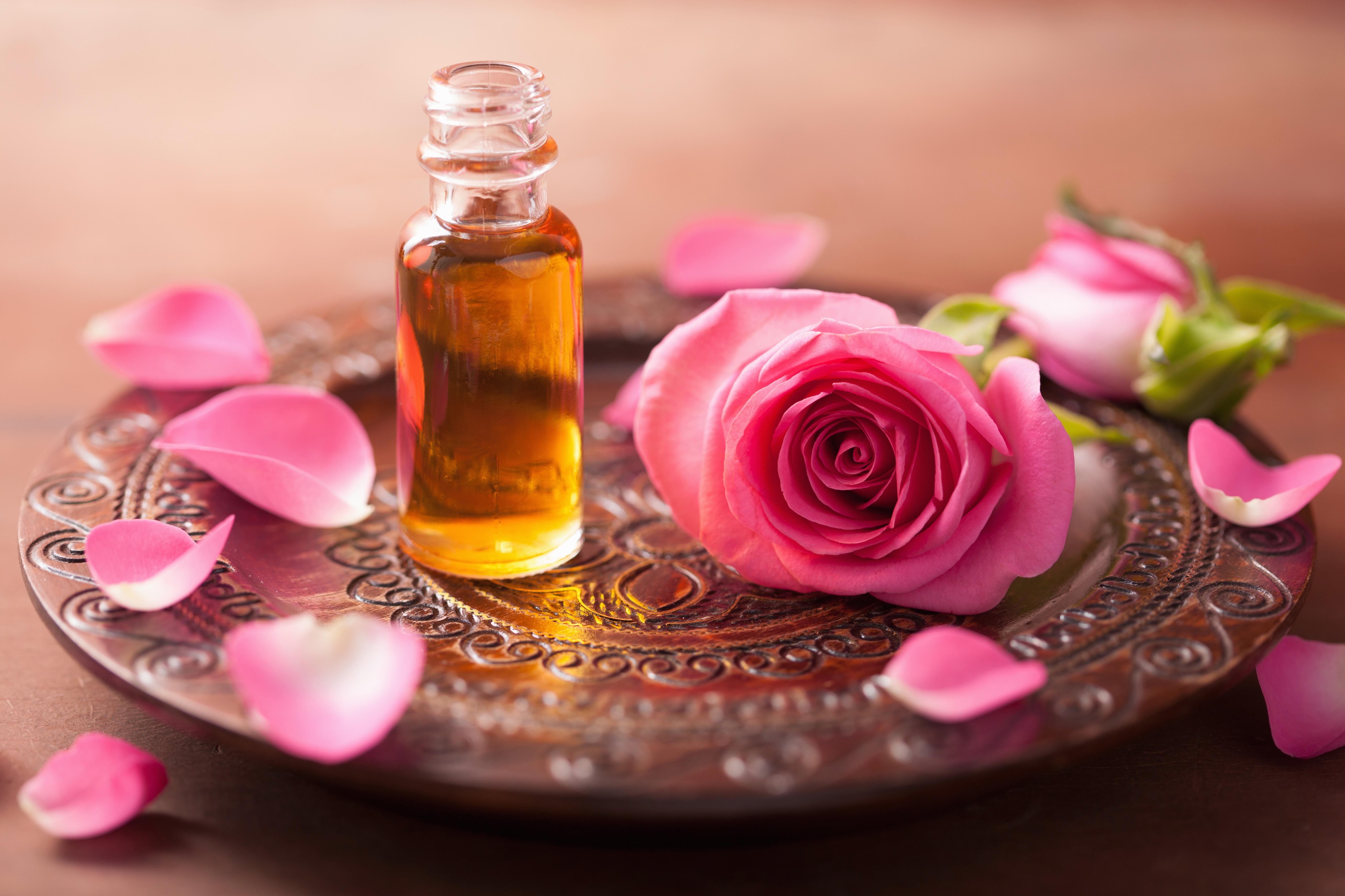 El original aceite de rosa