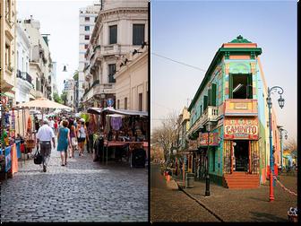 Dos paseos por Buenos Aires