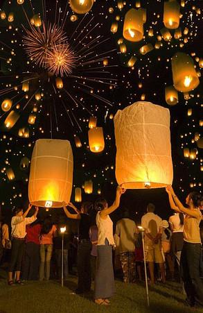 Chiang Mai Yi Peng Festival, Chiang Mai.