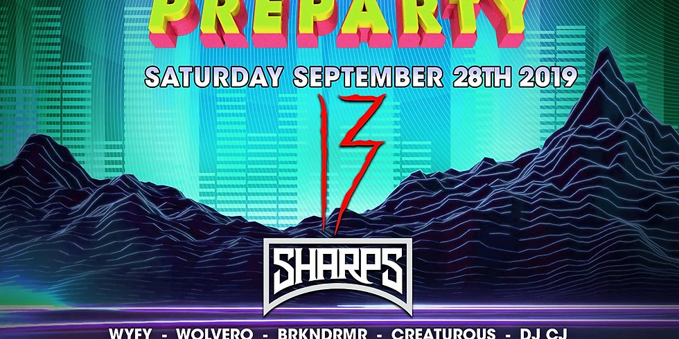 Audio Sunset Preparty - feat. 13, Sharps, +More