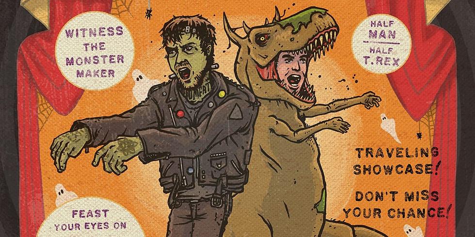 Spooked: Figure & Midnight Tyrannosaurus
