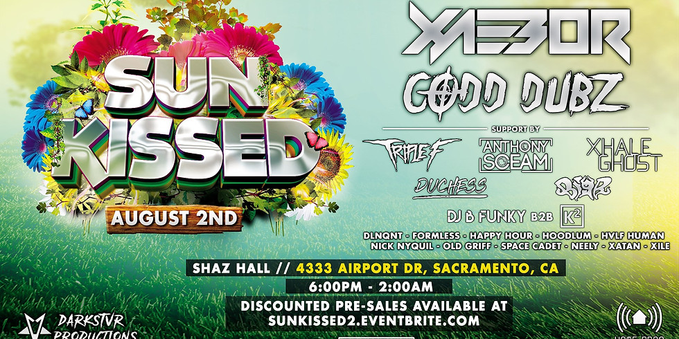 SUN KISSED 2019! Featuring Xaebor, Codd Dubz and many more!