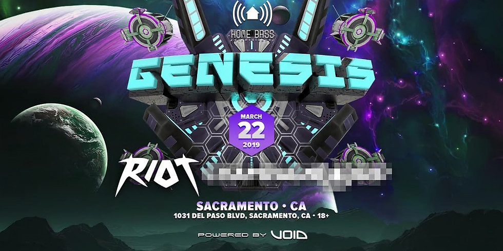 Genesis Ft. Riot, Special Guest + More