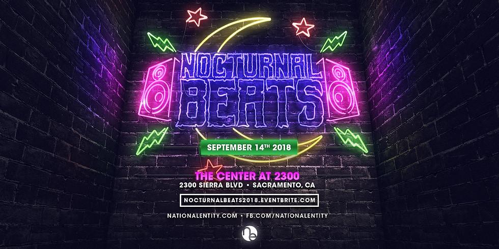 Nocturnal Beats ft Dieselboy, Kutski, YDG, Lucchii + more!