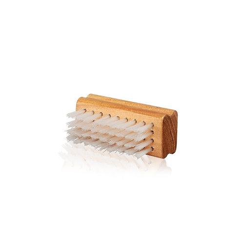 Nylon Brush. Wooden Handle