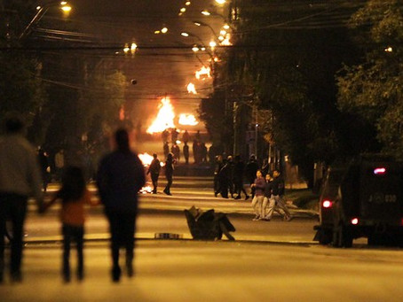 Op-ed in openDemocracy: 'The Dictatorship has not Ended': Chile's September Riots