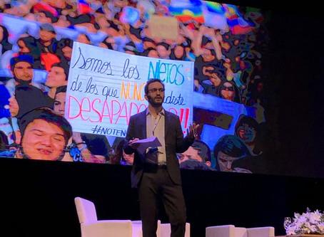 Presentación en Congreso Futuro 2020 Maule / Presenting at the Conference for the Future
