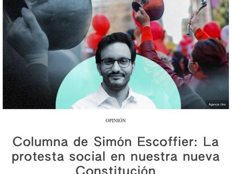 """Op-ed in The Clinic: """"La Protesta Social en Nuestra Nueva Constitución"""""""