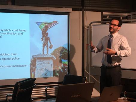 Presentación en la Universidad de Oxford / Presentation at Oxford University