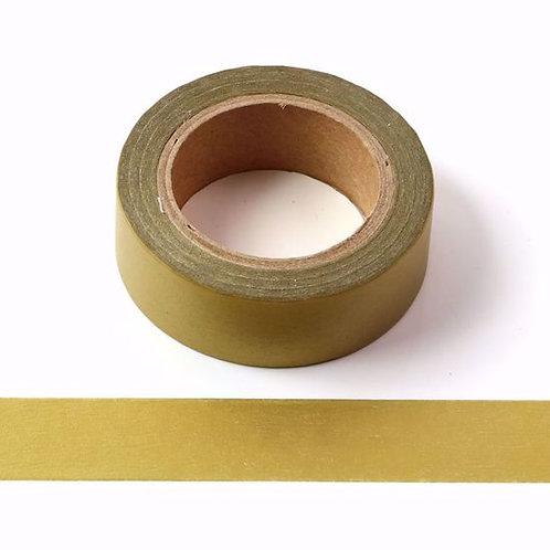 W088 -  Masking tape 15mm uni doré