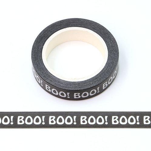 Masking tape 15 mm motif BOO
