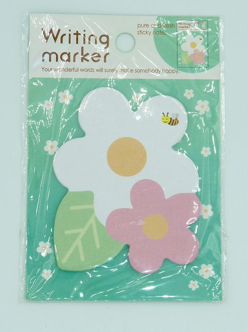 STI06 - Post-it kawai fleurs  planner girly