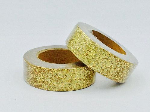 G042 - Paillettes glitter  doré brillant