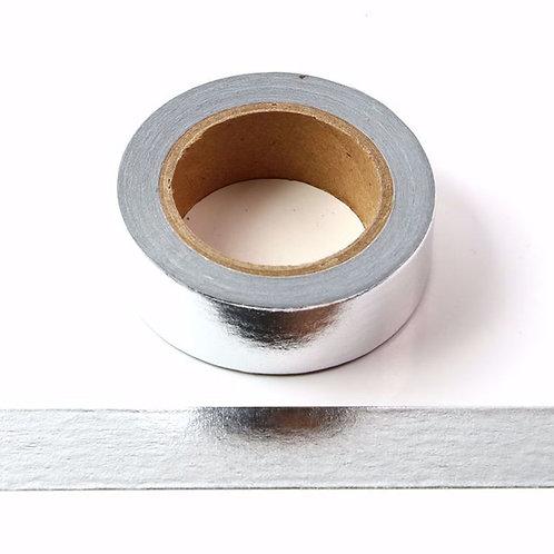 Masking tape foil Argent métallique 15mm x 10m