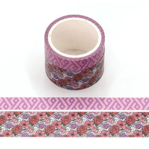 P005 - 2 Masking tape 5m parfumés odeur rose