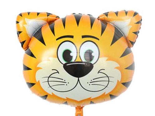 Ballon mylar géant tigre - remplissage hélium