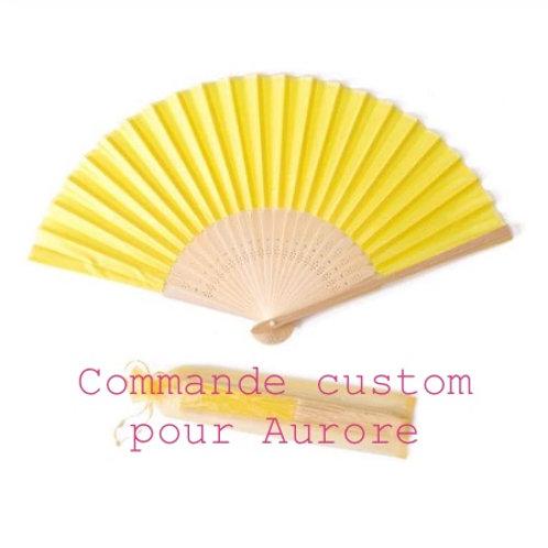 Commande custom pour Aurore