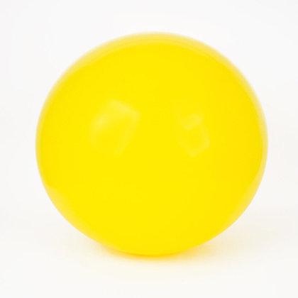 Ballon Latex Géant 90 cm Jaune