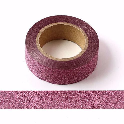 G031 - Masking tape Paillettes roses glitter