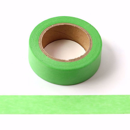W560 - Masking tape 15 mm vert clair fluo