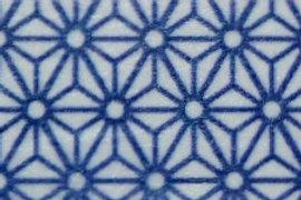 W217 - Masking tape motif design bleu