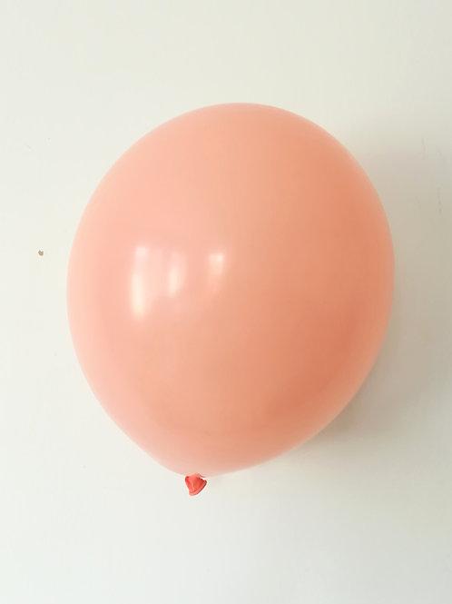 10 ballons rose gold 15 cm