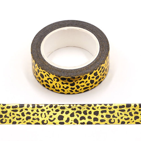 F153 - Masking tape foil léopard