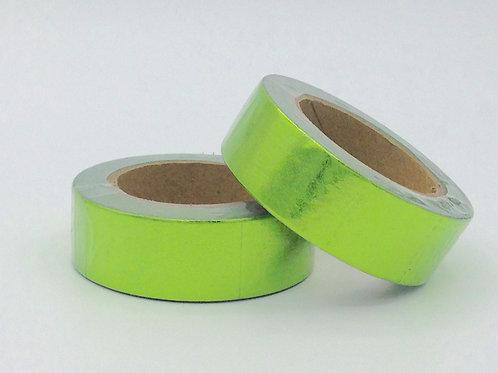 F065- Masking tape foil vert clair