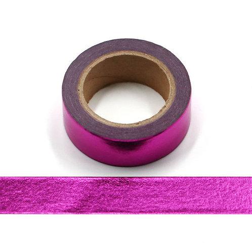 F041 - Masking tape métallique 15mm foil rose