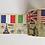 Thumbnail: W301 - Masking tape drapeaux US IT UK FR