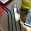 Thumbnail: 4 Pailles inox Bleu 21 cm, courbées ou droites, zéro déchet