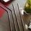 Thumbnail: 4 Pailles inox argent 21 cm, courbées ou droites, zéro déchet
