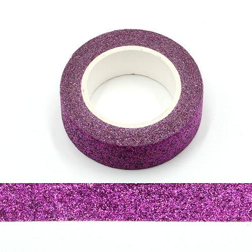 Masking tape paillettes violettes  glitter