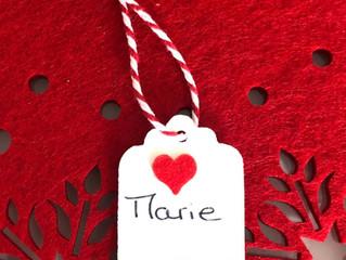 Projet créatif Noël #1 : une étiquette cadeau personnalisée