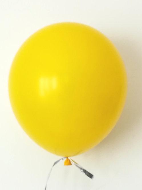 10 ballons latex jaune 30 cm haute qualité
