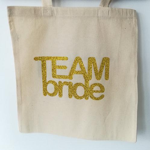 Tote bag Team Bride / EVJF