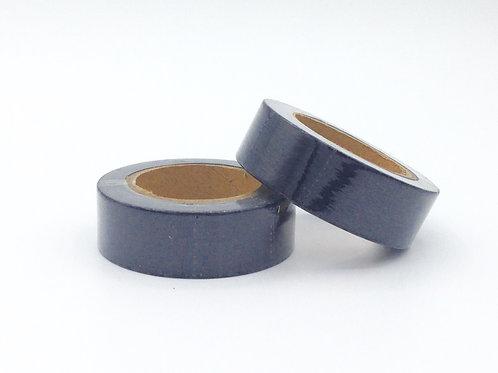 F086- Masking tape foil noir mat