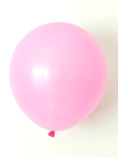 10 ballons latex rose clair 30 cm haute qualité