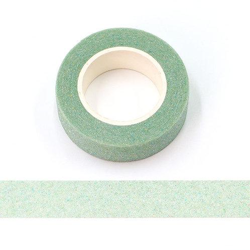 Masking tape Paillettes glitter vert