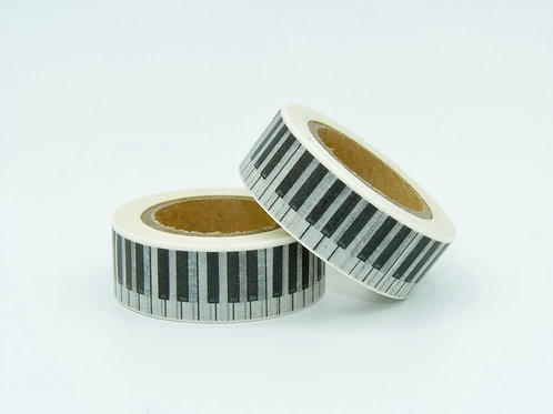 W032 - Masking tape Touches de piano