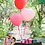 Thumbnail: Ballon Coeur latex Géant 90 cm rose poudré, rouge ou blanc