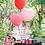 Thumbnail: Ballon Coeur latex Géant 90 cm rose