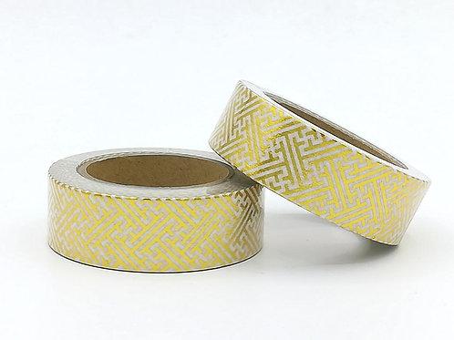 F116 - Masking tape foil or motif marocain