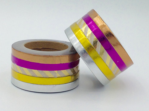 F068- Lot de 5 Masking tape foil fins 5mm