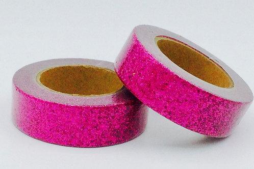 G051 - Paillettes glitter rose prune brillant