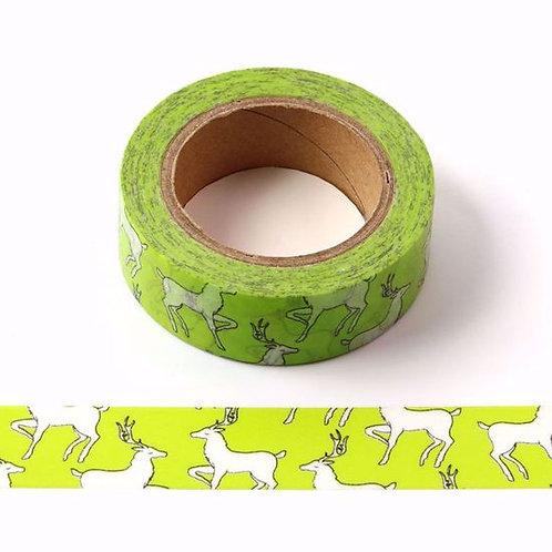 Masking tape biches / Vert flou