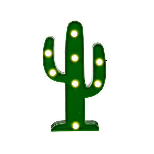 Lampe LED Cactus - décoration chambre enfant salon